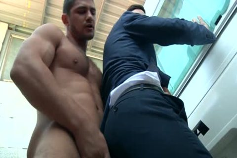 chap In Trailer Park acquires His penis Milked Hard And Then slam A Tushy unfathomable