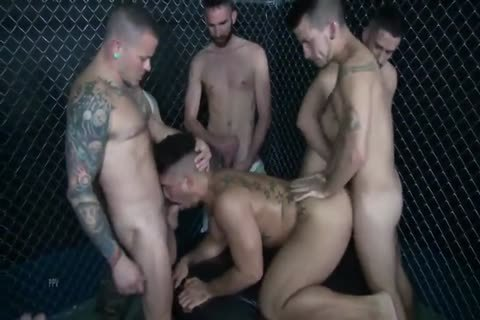The big group bunch-sex