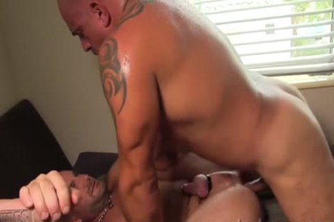 Bruce And Jay pound bare And coarse