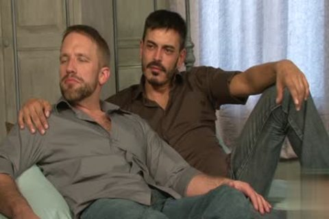 humongous ramrod homosexual anal job With dick juice flow