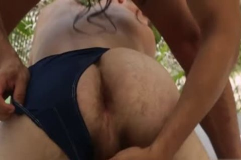 Latin homosexual Gaping With ejaculation