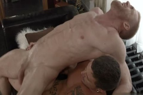 Muscle gay bare With cumshot