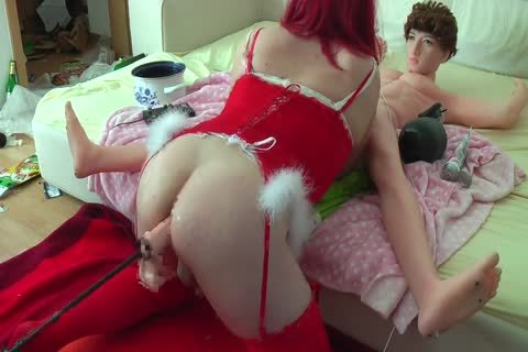 Sissy pooper Machine fuck dark hole Stretching 17