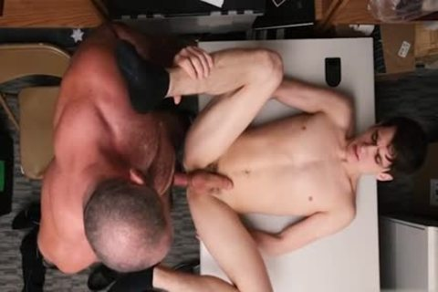 big 10-Pounder twink ace fuck And cumshot