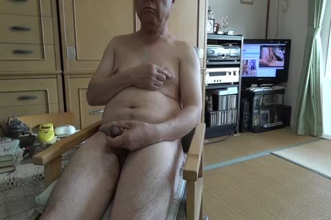 The Elderly cum With in nature's garb Masturbation And gulp love juice