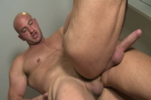Muscle Bear anal With anal ball cream flow