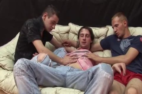 Three Homo dudes Take It In The ass