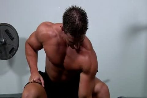 Muscle homo oral sex And cream flow
