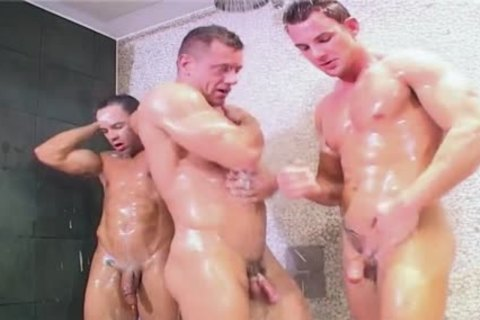 5 bare Wrestlin' Buddies In Oil