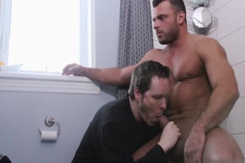 large penis homo oral-sex With Facial