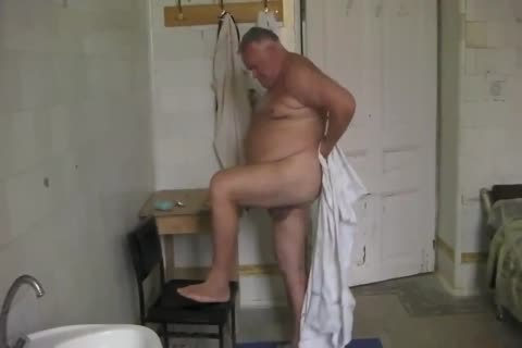 DADDY in nature's garb AT SPA MUD bathroom