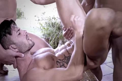 unprotected Muscle Sex In The outdoors