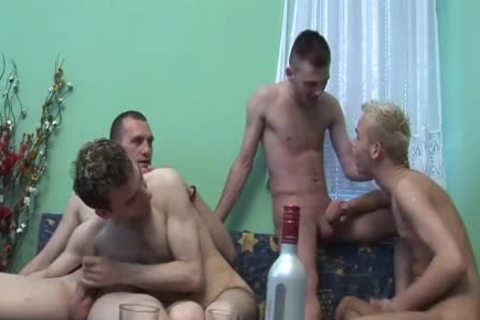 3 Cumshots At one time
