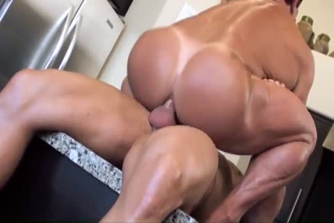 Muscle pretty pounding guys