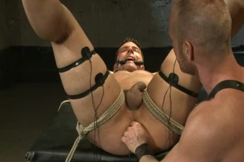 Muscle gay tied And Facial sperm