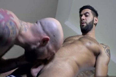 Muscle homosexual blowjob stimulation And goo flow
