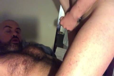 Musclebear Sucks And gets Rimmed