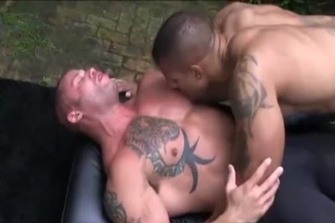 Two Husbands Explore Each Others Muscles And Then Some