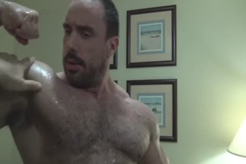 Verbal hairy Bodybuilder Worship (no sperm Or Full Frontal)