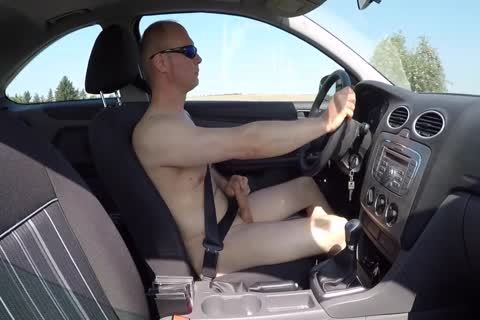Drive in nature's garb And Masturbation Outdoor