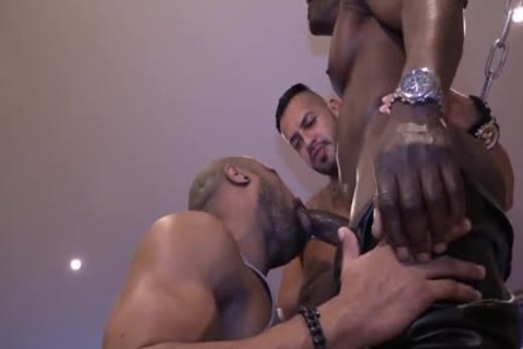 large Dicked 3-way pounding