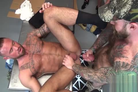 Michael Roman's bunch gangbang two