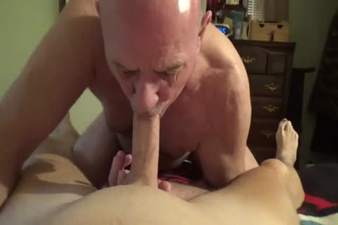 Watch Me As I suck All The cum Out Of Stevens knob And Balls