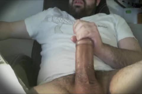 Bear enormous fat dick Hard jack off With Tenga Egg Masturbator