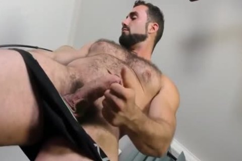 Jaxton Wheeler jerking off Is hairy cock
