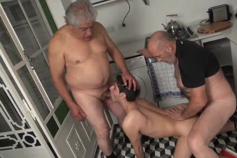 Two Daddies And A amoral juvenile man