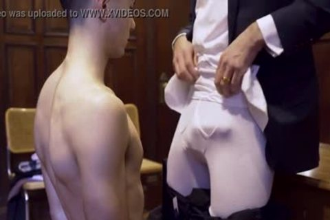 MormonBoyz - Ripped Missionary lad Permeates A Powerful Priests dirty pooper