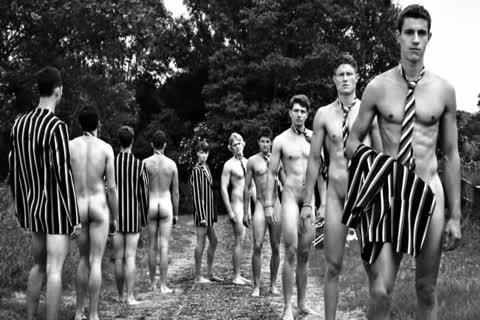 undressed boys Rowing: Brokeback Boathouse - 2013