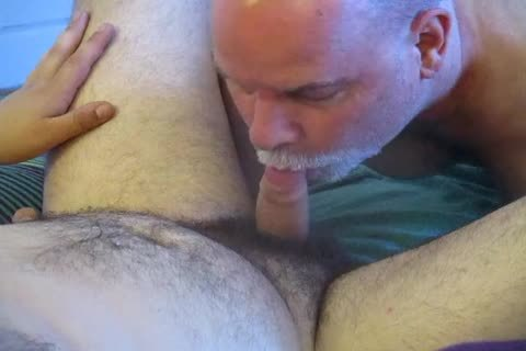 ambisexual Bear Cub's First fellatio-sex To Completion.
