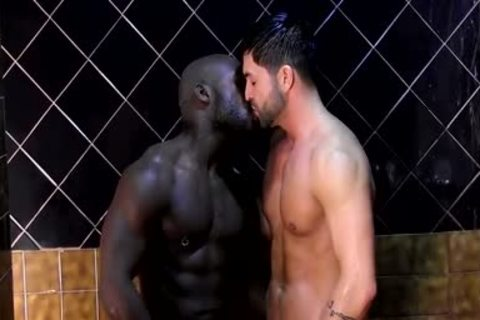 Dominic Showers With Dallas