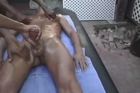 Mega pecker Four-hands-massage