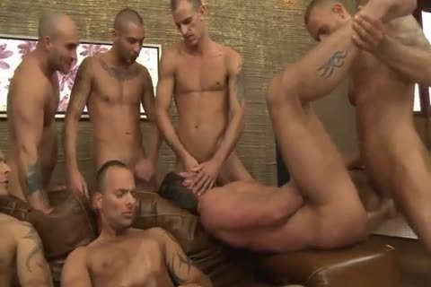 Toby Dutch receives screwed In A Seven-guy bareback group nail