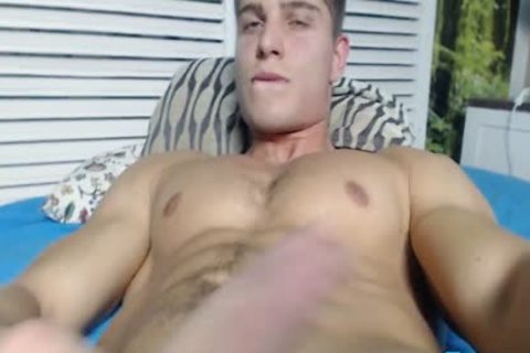 Alain Jarry On Flirt4Free - Sculpted Hunk With A perfect ramrod Shows Why that guy'd Be A Great poke