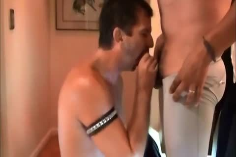 Jerk, suck and cum - finale with lycra lover buddy